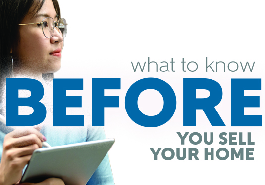 What to Know Before You Sell Your Home