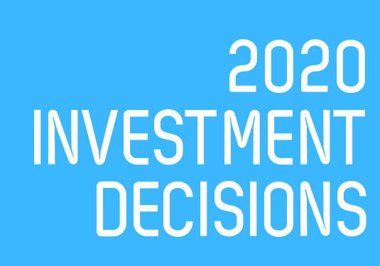 Investment Decisions 2020