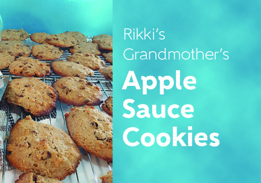 Rikki's Grandmother's Apple Sauce Cookies