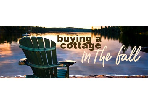 5 Reasons You Should Buy A Cottage In The Fall