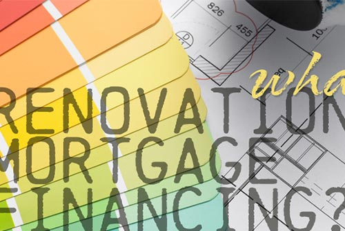 What is Renovation Mortgage Financing?