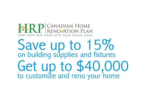Want up to $40,000 to customize your home?  And, savings on building materials up to 15%?  Call us for details.