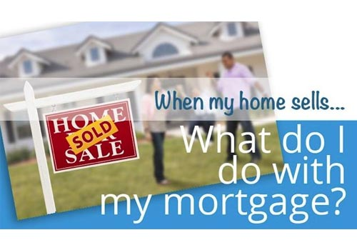 When my home sells...What do I do with my mortgage?